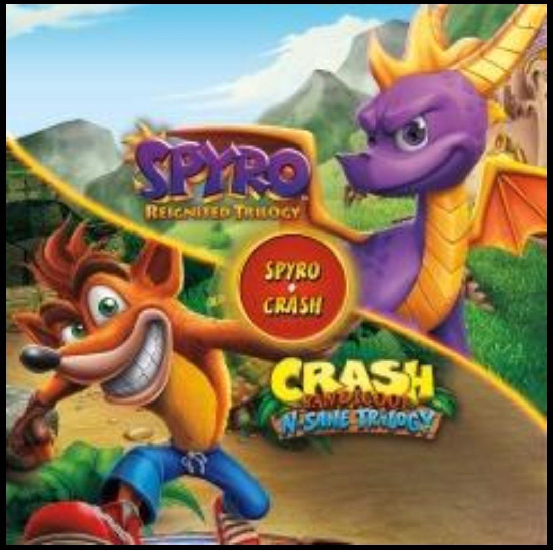 Spyro™ + Crash Remasterizados - PS4