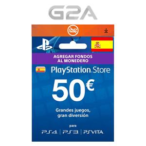 Tarjeta PlayStation Network 50€