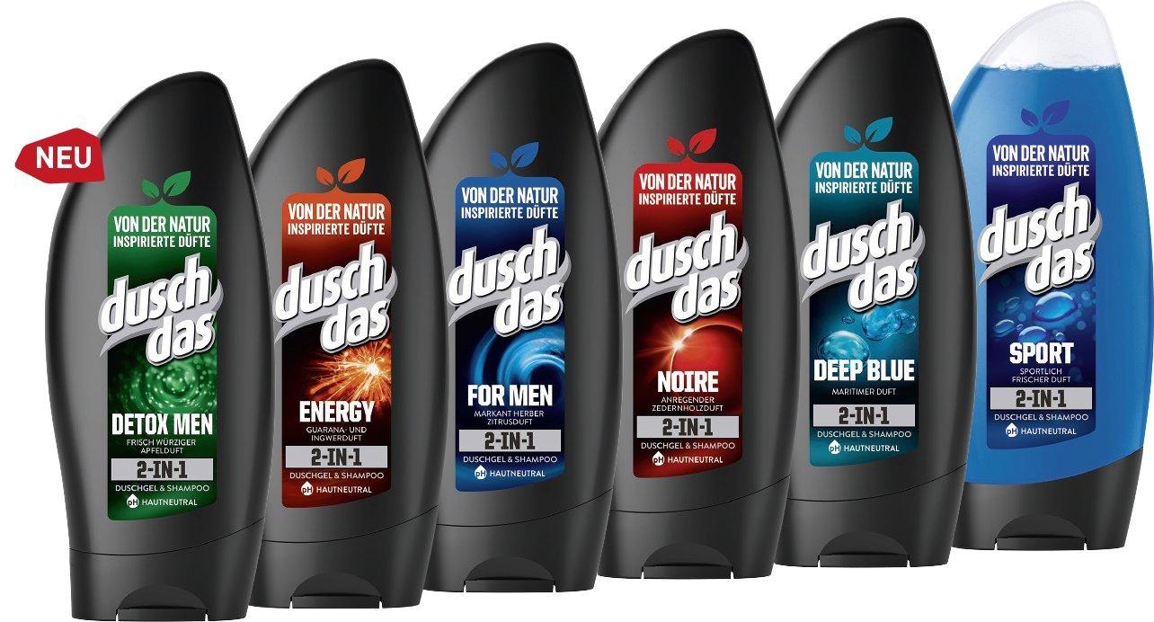 Pack de 6 Gel de ducha para hombre