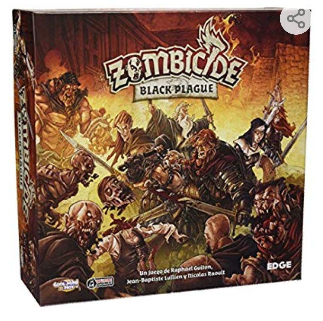 Zombicide Black Plague.