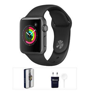Apple Watch Serie 3 / 38mm / Acero Inoxidable / Gris