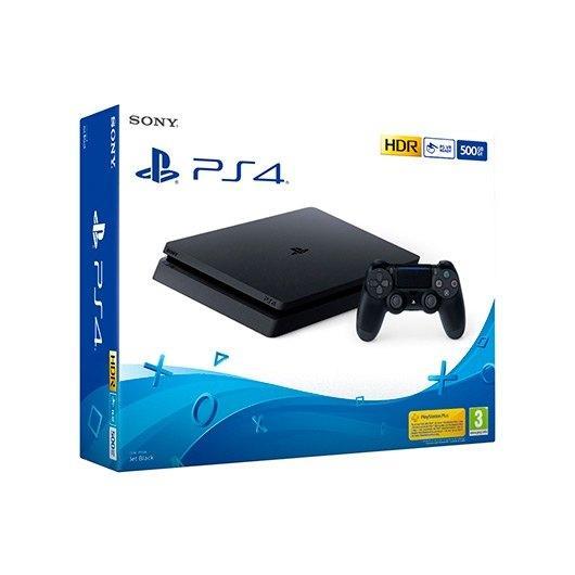 SONY PS4 SLIM 500GB NEGRA