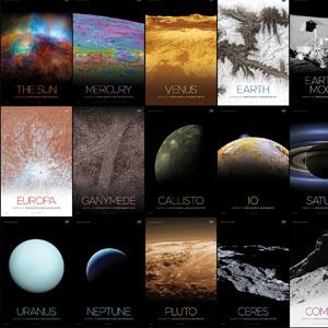 Imprime tu propio póster del sistema solar gracias a la NASA
