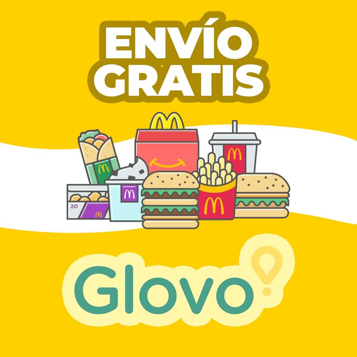 Envío gratis en McDonald's por Glovo (todas las cuentas)