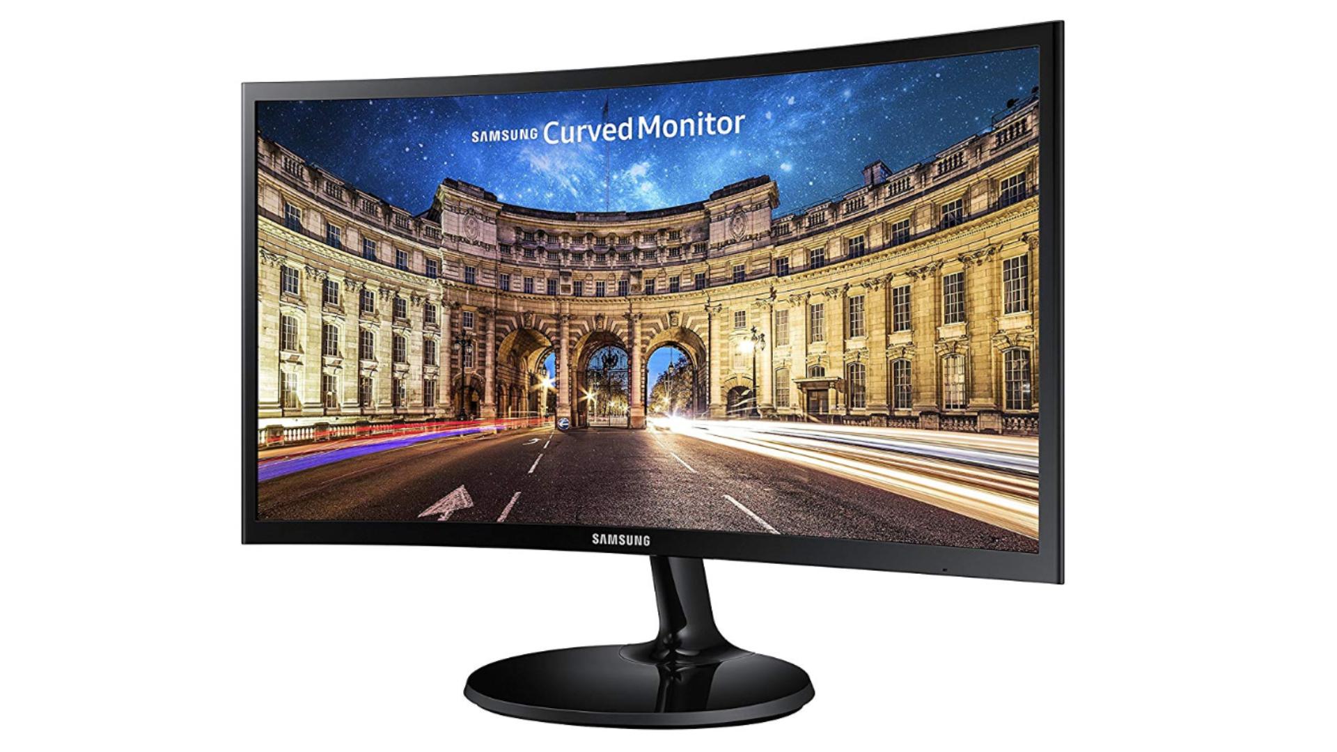 Samsung curved Monitor para PC Desktop de 24
