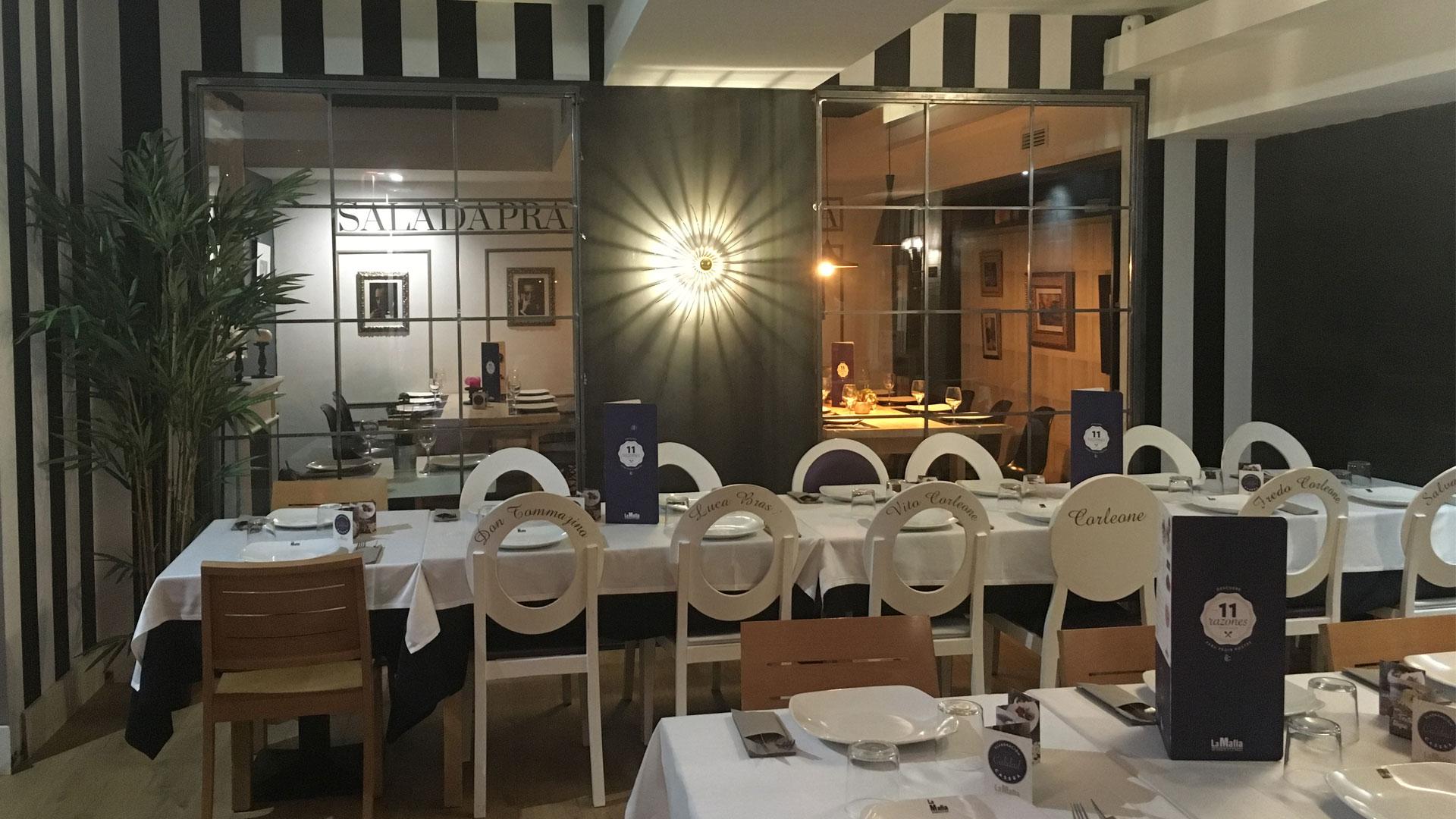 Pizza gratis pidiendo 2 platos (Zaragoza) La mafia se sienta a la mesa