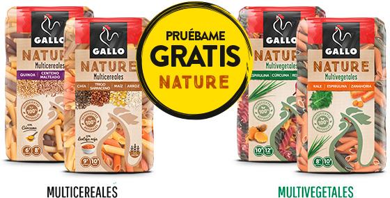 [GRATIS] Pastas GALLO Nature [REEMBOLSO]