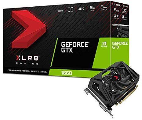 PNY GeForce GTX 1660 6GB por sólo 198€