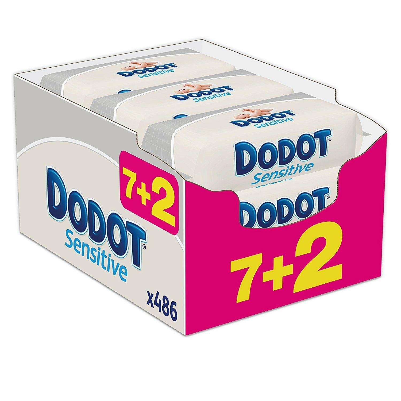 Toallitas Dodot 9x54 unidades