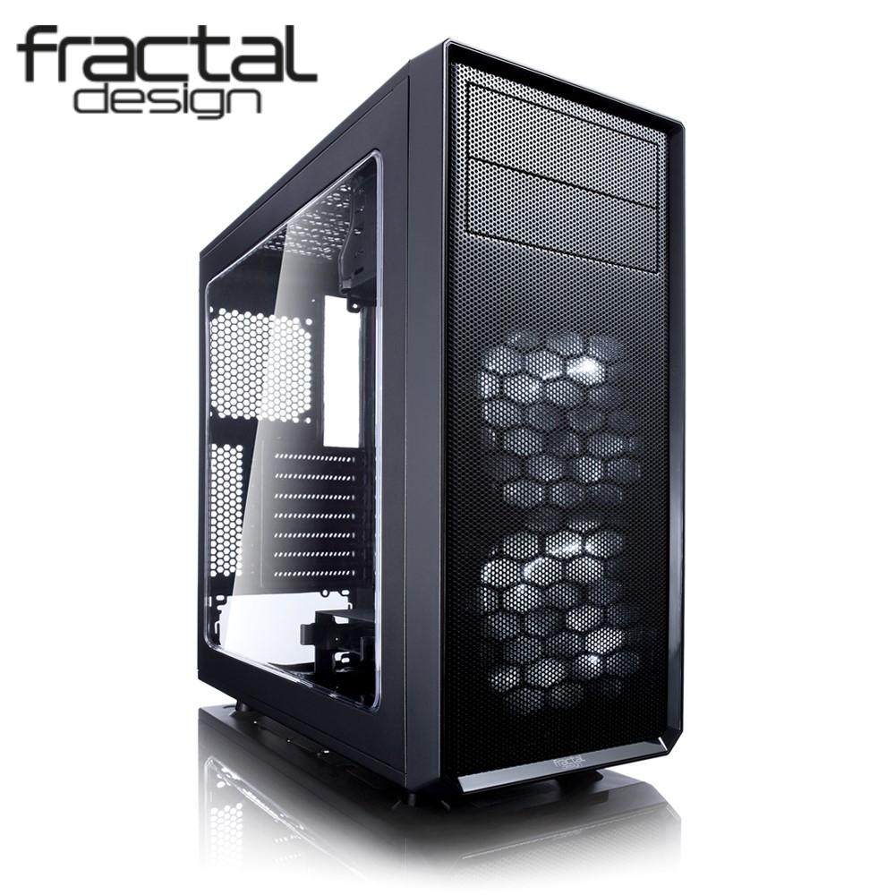 Fractal Design Focus G USB 3.0 con Ventana Negra
