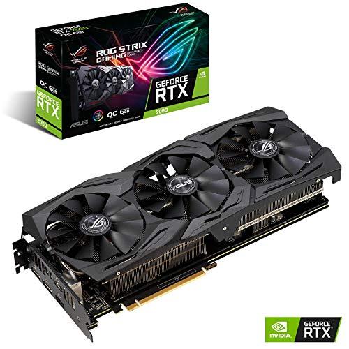 Tarjeta gráfica Asus Rog Strix Gaming GeForce RTX 2060 OC 6GB GDDR6