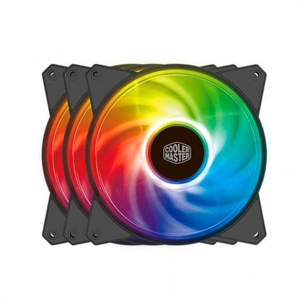 Cooler Master Masterfan MF120R ARGB + Control / 3 Uds. Ventilador 12 cm