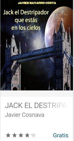 Google Play: Libros Electrónicos de Javier Cosnava [Gratis]