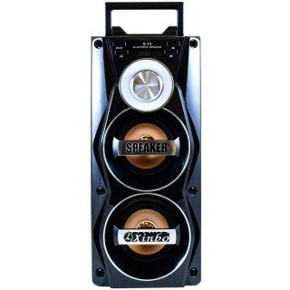 Altavoz Karaoke Bluetooth Altavoz Portátil Con Microfono Gran Potencia Con Radiofm Mp3 Luz Led