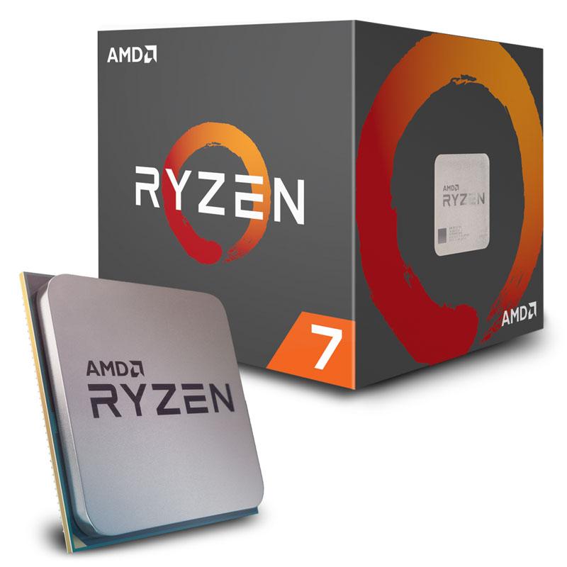 AMD Ryzen 7 2700 4.1 Ghz Socket AM4 Boxed [Gratis 2 Juegos]