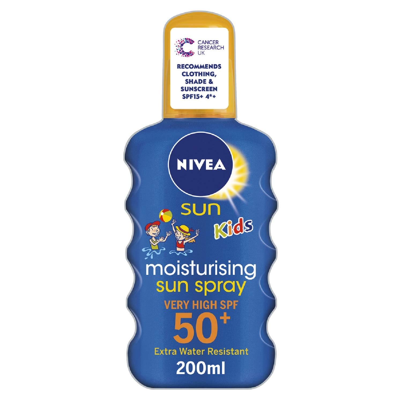 Pack de 6 cremas solares Nivea 200ml a muy buen precio desde UK