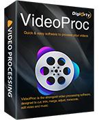 Editor de vídeo VideoProc