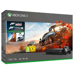 Preciazo!   XBOX ONE X 1TB + FORZA HORIZON 4 Y FORZA MOTORSPORT 7 + GEARS 4 Y HALO 5