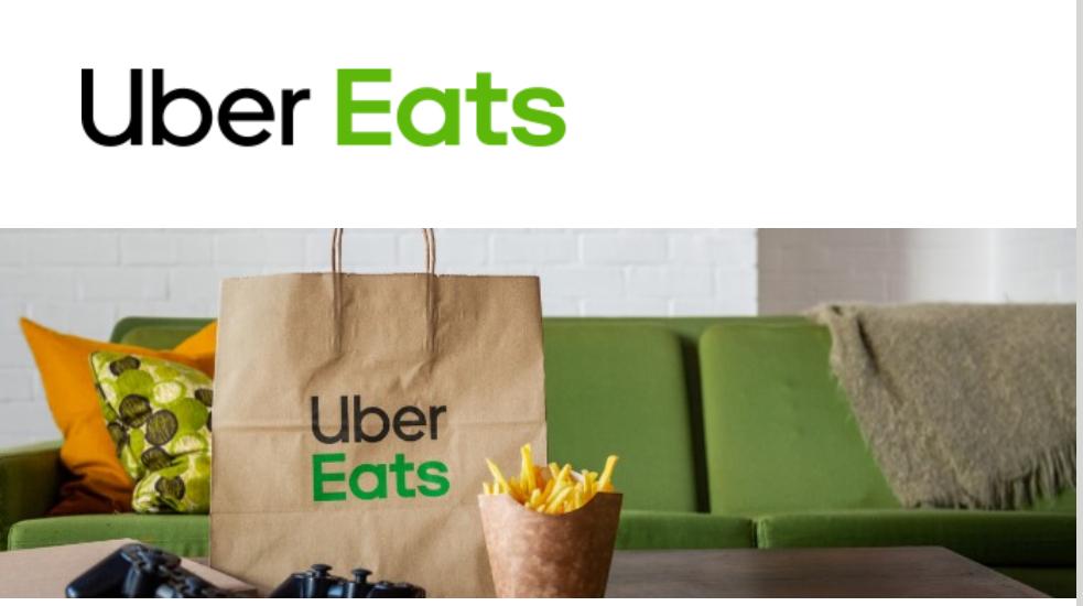 50% descuento Uber Eats en tu primer pedido
