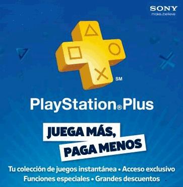 Suscripción 1 año Playstation Plus