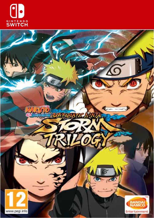 Videojuego Naruto Shipudden Ultimate Ninja Storm Trilogy para Nintendo Switch