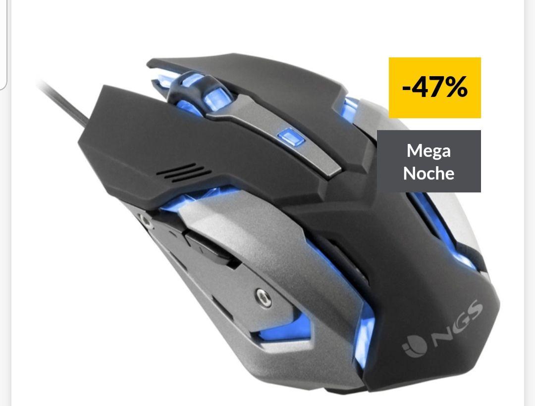 Ratón gaming NGS