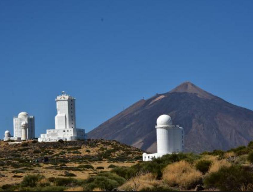 TENERIFE 14 Y 15 de junio: Observatorio del Teide Visitas guiadas GRATIS