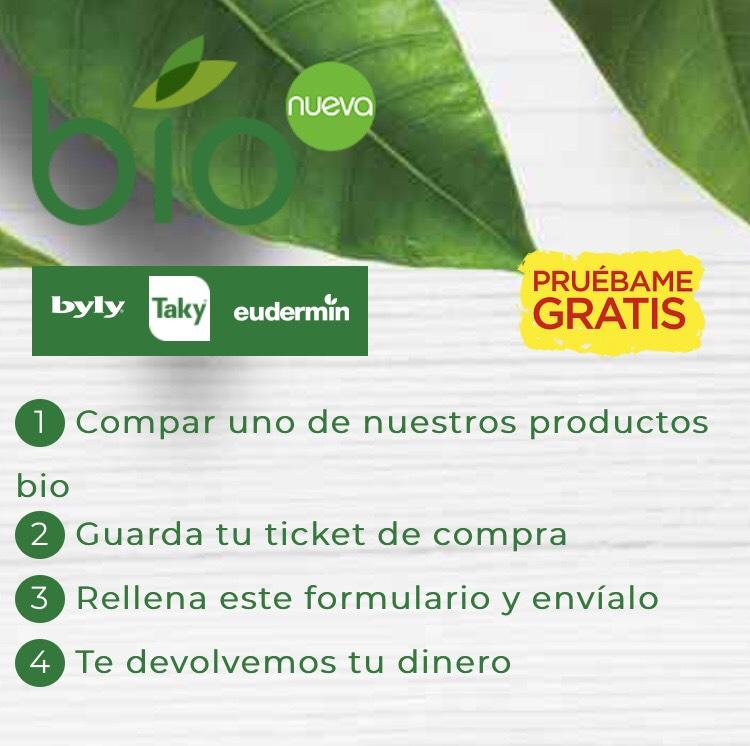 Prueba gratis Bio (Bily, Taki, Eudermin)