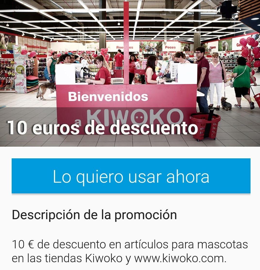 10 € de descuento en Kiwoko por comprar más de 49€