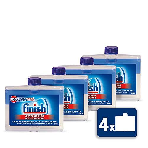Finish Limipiamáquinas líquido para lavavajillas - 4 unidades x 250 ml