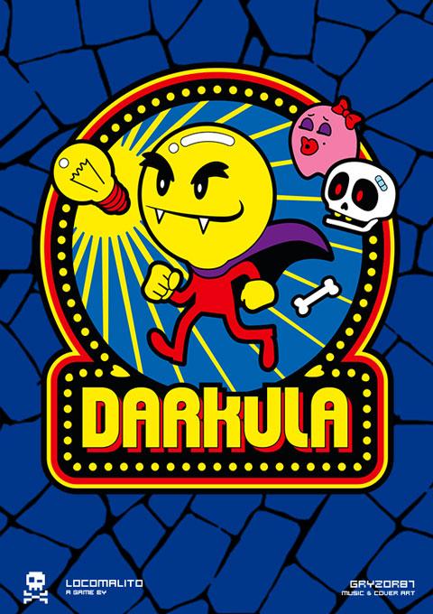 Darkula; el nuevo arcade de Locomalito y Gryzor87 (producto 100% español)