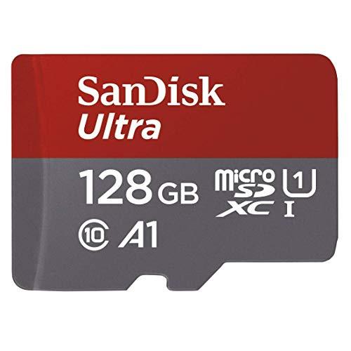 SanDisk Ultra -MicroSDXC 128 GB con adaptador