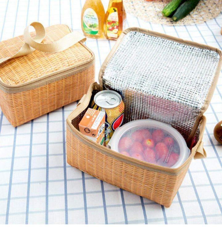Bolsa térmica para almuerzo, picnic, playa ,etc