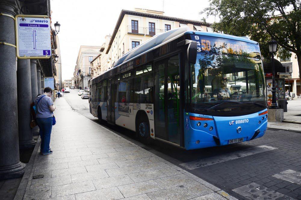 Autobuses gratis en Toledo