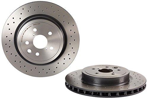 2x discos Brembo ventilados y perforados