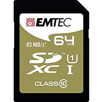 Emtec SDXC 64GB UHS1 U3 Speedin