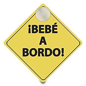 Cartel Bebe A Bordo (Producto plus)