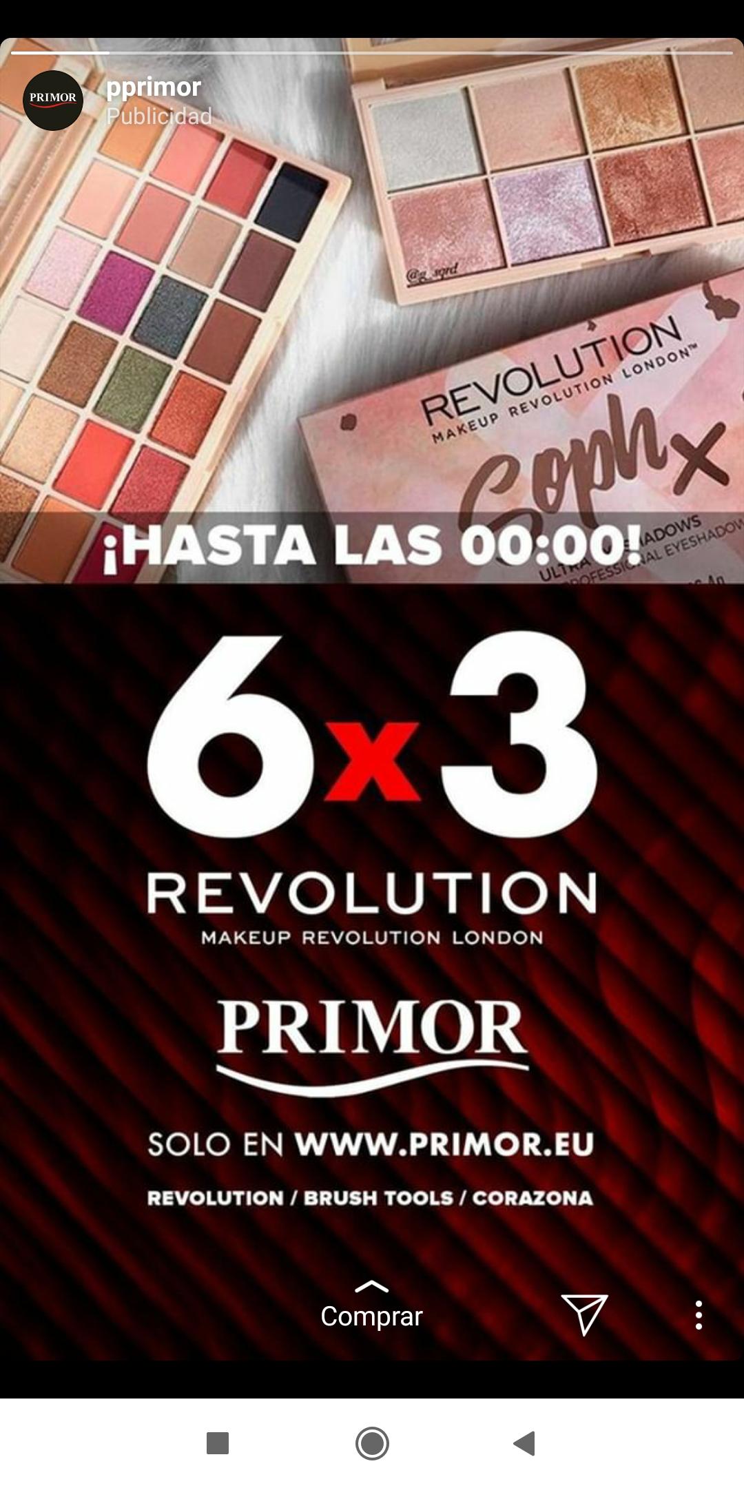 6x3 en Revolution (primor)