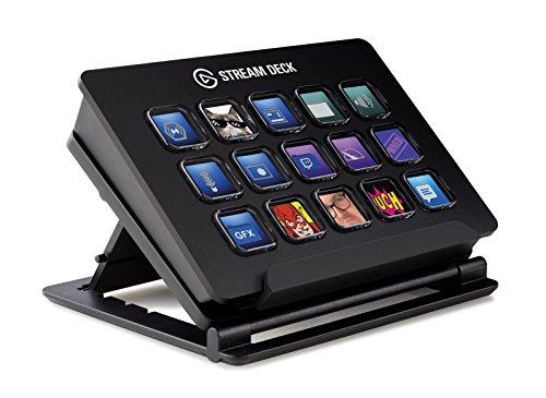Elgato Stream Deck - Controlador para contenido en directo, 15 teclas LCD personalizables