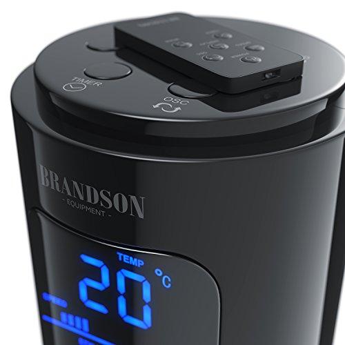 Ventilador de torre con 45W de fresquito para el verano, sólo 48dBA max, mando a distancia