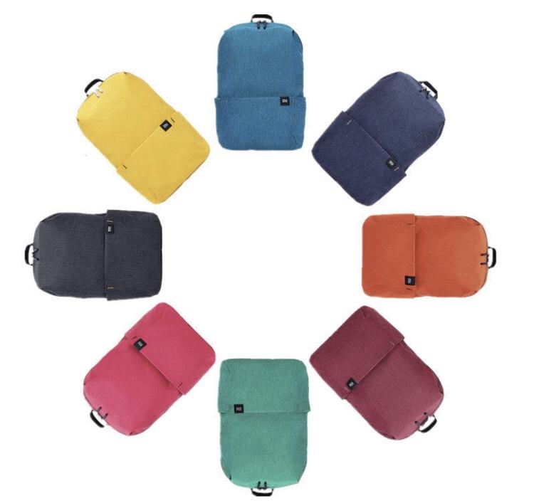 Vuelve la mochila de 10L de Xiaomi por menos de 5€