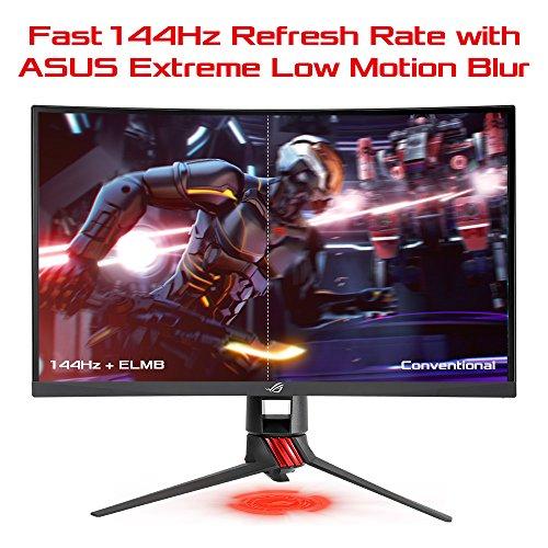 "Asus ROG Strix XG27VQ - Monitor curvo de Gaming de 27"" (Full HD, resolucion de 1920x1080p, 144Hz, Extreme Low Motion Blur, Adaptive-Sync, FreeSync)"