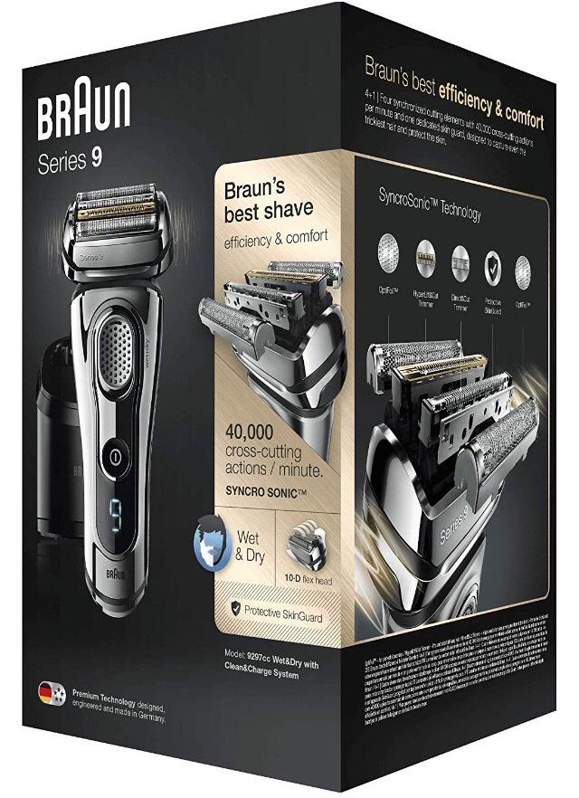Braun Series 9 9297 cc Afeitadora Eléctrica