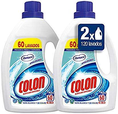 Preciazo para los 120 lavados de Colon Nenuco