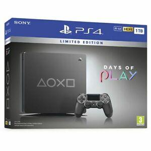 """PS4 1TB Edición especial """"Days of Play"""""""