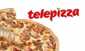 Dos medianas en Telepizza por 15,95