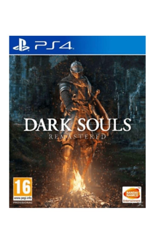 Juego ps4 Dark Souls Remastered cerrado