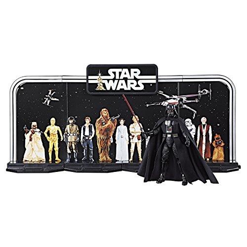 Star Wars - Play Set especial Black Series del 40 Aniversario del episodio IV, set de 4 piezas a precio mínimo