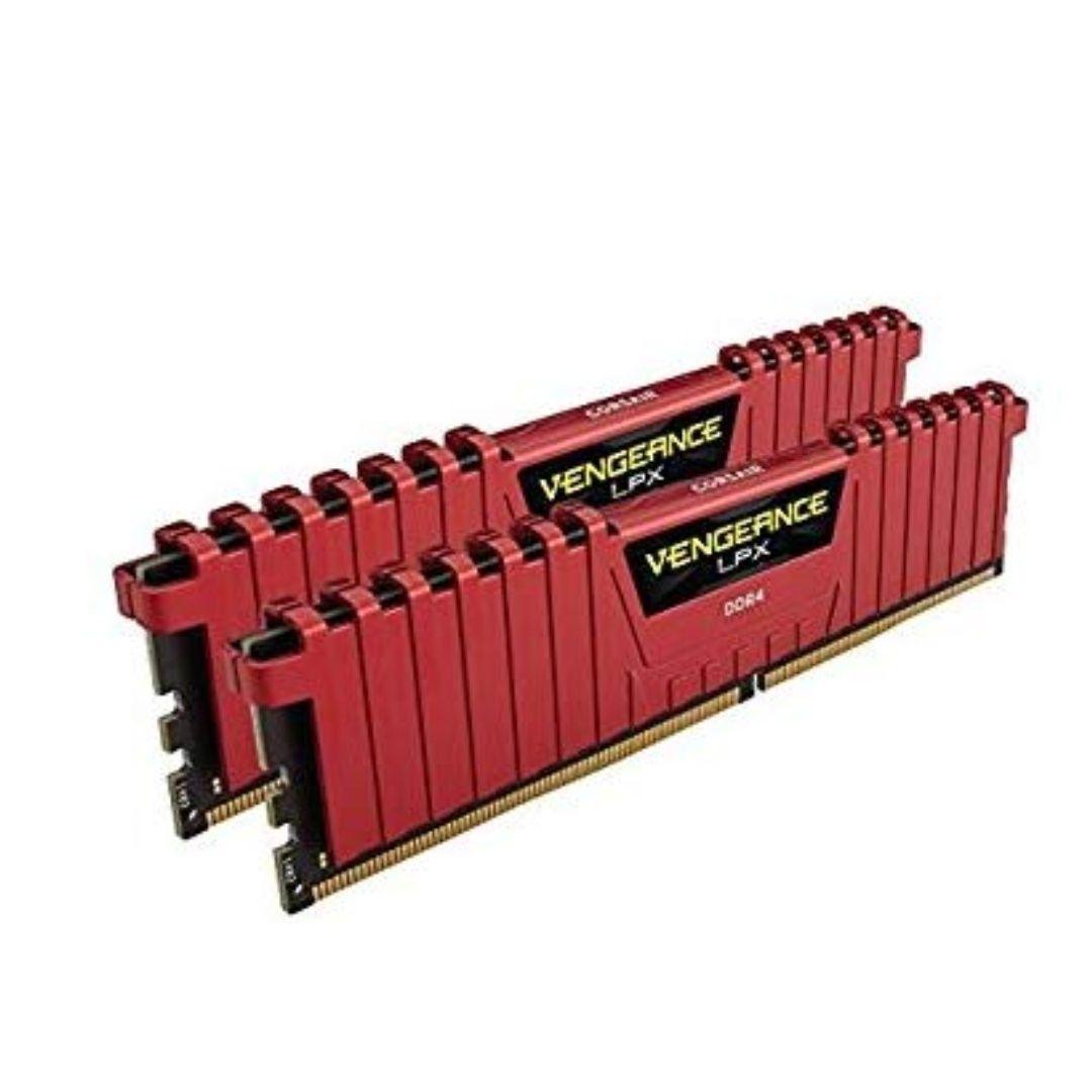 Corsair Vengeance LPX 16 GB (2 x 8 GB) DDR4 3200 MHz CL16 Memory Kit - Red
