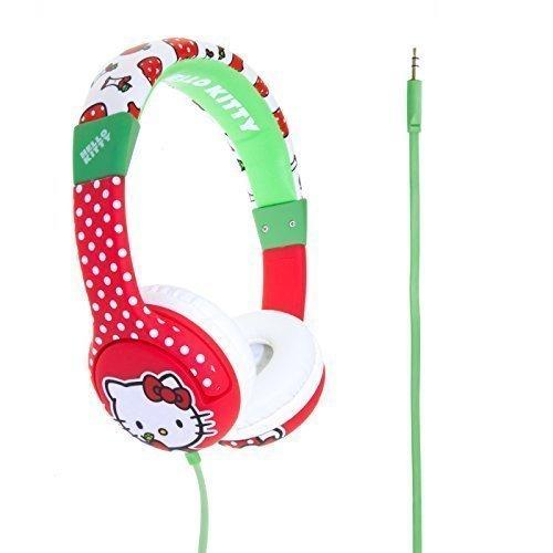 Auriculares de diadema para niños Hello Kitty